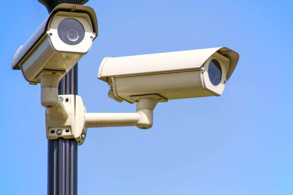 Photo of street cameras